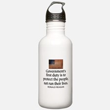 Government's first duty is to Water Bottle