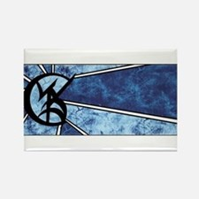 """Wedded Union"" Rune - Rectangle Magnet"