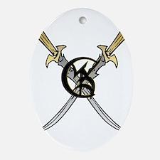"""Wedded Union"" Rune - Ornament (Oval)"
