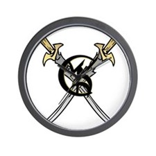 """Wedded Union"" Rune - Wall Clock"