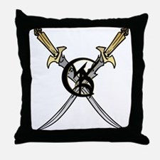 """Wedded Union"" Rune - Throw Pillow"