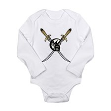 """Wedded Union"" Rune - Long Sleeve Infant Bodysuit"