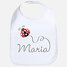 Ladybug Maria Bib