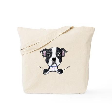 KiniArt Pocket Boston Tote Bag