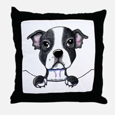 KiniArt Pocket Boston Throw Pillow