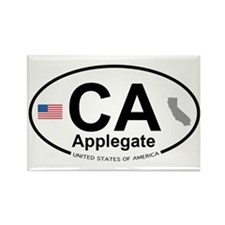 Applegate Rectangle Magnet