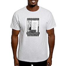"JUST CALL ME ""INSENSITIVE!""   Ash Grey T-Shirt"