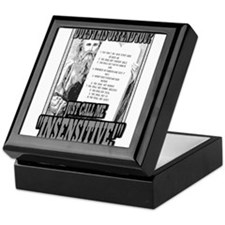 "JUST CALL ME ""INSENSITIVE!"" Keepsake Box"