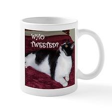 Kitty Who Tweeted Mug