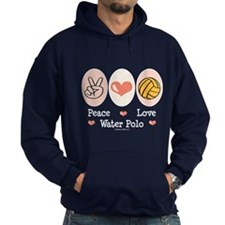 Peace Love Water Polo Hoodie