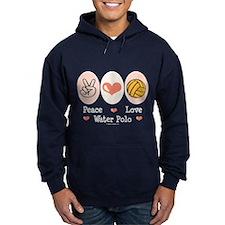 Peace Love Water Polo Hoody