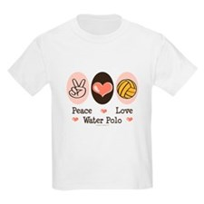 Peace Love Water Polo T-Shirt