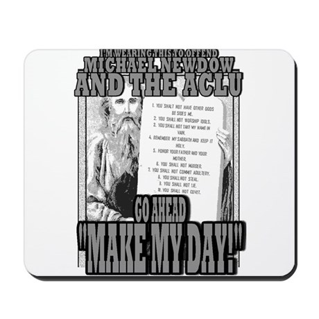 MAKE MY DAY! Mousepad