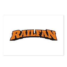 Railfan Postcards (Package of 8)