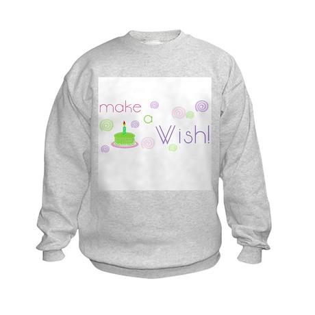 Birthday Wish Kids Sweatshirt