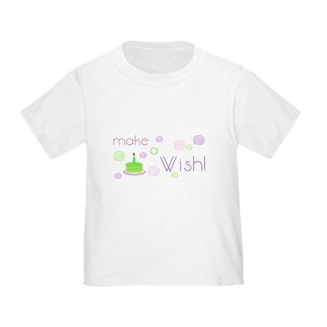 Birthday Wish Toddler T-Shirt