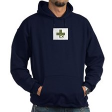 Hoodie, Logo front only
