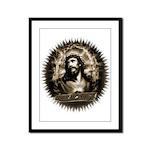 King of Kings Framed Panel Print