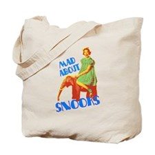 Mad About Snooks Tote Bag