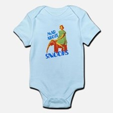 Mad About Snooks Infant Bodysuit