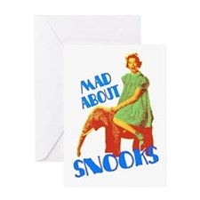 Mad About Snooks Greeting Card