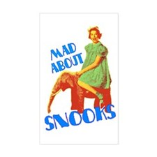 Mad About Snooks Decal