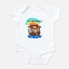 Noah's Ark 1st Birthday Infant Creeper