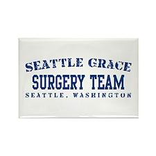 Surgery Team - Seattle Grace Rectangle Magnet