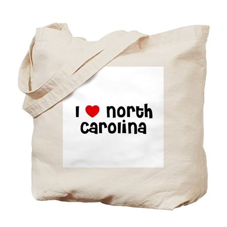 I * North Carolina Tote Bag