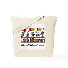 Little Monster 2nd Birthday Tote Bag