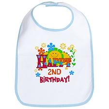 Joyful 2nd Birthday Bib