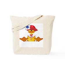 Quackers Girl Tote Bag