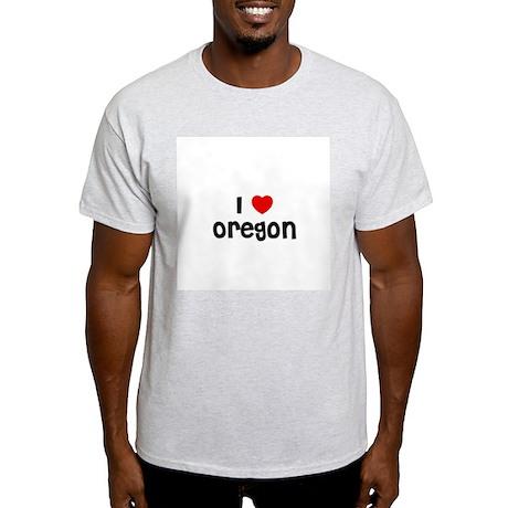 I * Oregon Ash Grey T-Shirt