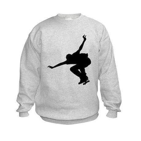 Skateboarding Kids Sweatshirt