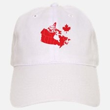 Canada Map Baseball Baseball Cap