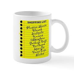 Dexter's Shopping List Mug