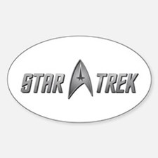 Star Trek light silver Decal