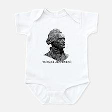 Thomas Jefferson Infant Bodysuit