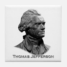 Thomas Jefferson Tile Coaster