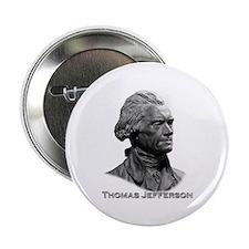 """Thomas Jefferson 2.25"""" Button"""