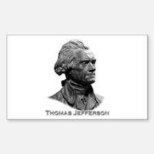 Thomas Jefferson Decal