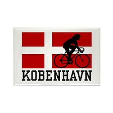 Kobenhaven Cycling Female Rectangle Magnet