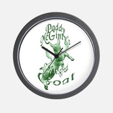 McGinty's Goat Wall Clock