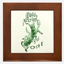 McGinty's Goat Framed Tile