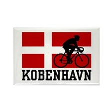 Kobenhaven Cycling Male Rectangle Magnet