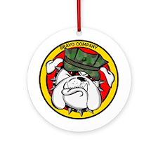 Bravo Company Ornament (Round)
