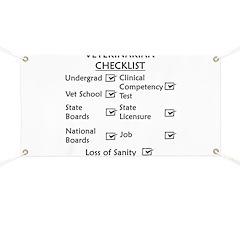 Veterinarian Checklist Banner