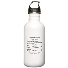Veterinarian Checklist Water Bottle