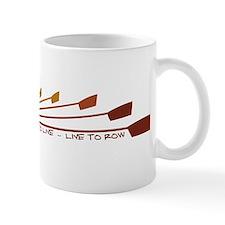 Live To Row Small Mug