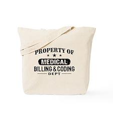 Medical Billing and Coding Tote Bag